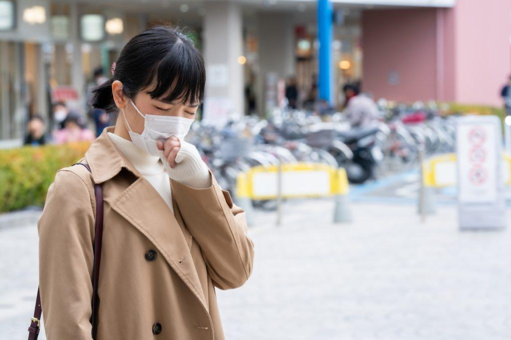 外出を控えることが新型コロナウイルス感染の予防につながる